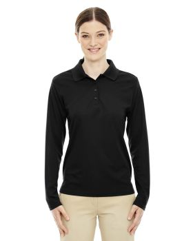 Ash City - Core 365 78192 Ladies' Pinnacle Performance Long-Sleeve Piqué ...