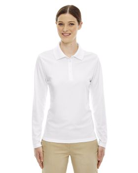 Ash City Core 365 78192 Ladies Pinnacle Performance Long Sleeve Pique Po ...
