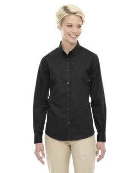 Ash City - Core 365 78193 Ladies' Operate Long-Sleeve Twill Shirt
