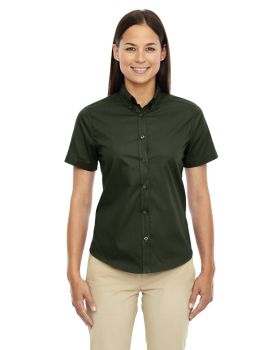 Ash City - Core 365 78194 Ladies' Optimum Short-Sleeve Twill Shirt