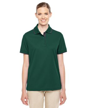 Ash City - Core 365 78222 Ladies' Motive Performance Piqué Polo with Tip ...