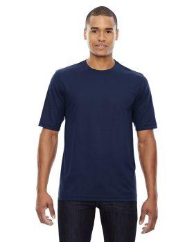 Core365 88182 Men's Pace Performance Pique Crew Neck T-Shirt