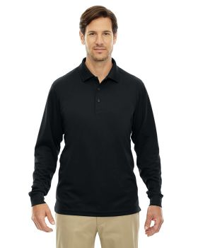 Ash City - Core 365 88192 Men's Pinnacle Performance Long-Sleeve Piqué P ...