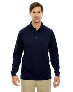 Core365 88192T Pinnacle Men's Performance Long Sleeve Pique Polo