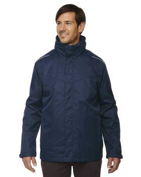 Ash City - Core 365 88205T Men's Tall Region 3-in-1 Jacket with FleeceL ...