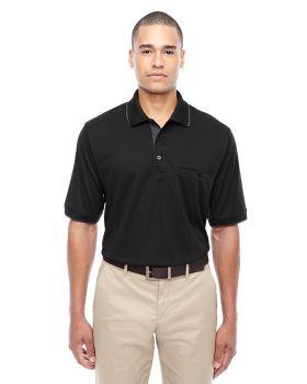 Ash City - Core 365 88222 Men's Motive Performance Piqué Polo with Tipped Collar