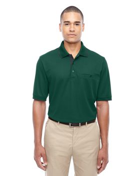 Ash City - Core 365 88222 Men's Motive Performance Piqué Polo with Tippe ...