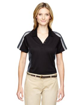 Ash City - Extreme 75119 Ladies' Eperformance Strike Colorblock Snag Protection Polo
