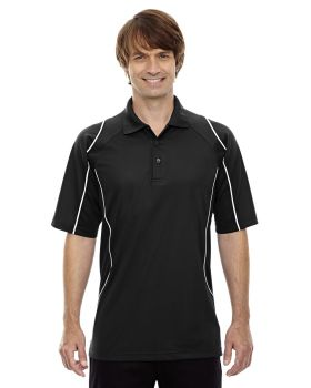 Ash City - Extreme 85107 Men's Eperformance Velocity Snag Protection Colorblock Polo with Piping
