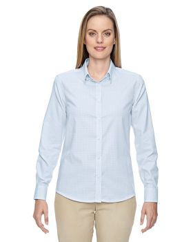 Ash City - North End 77043 Ladies' Paramount Wrinkle-Resistant Cotton Bl ...