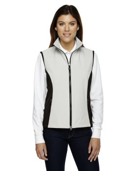Ash City - North End 78050 Ladies' Three-Layer Light Bonded Performance Soft Shell Vest