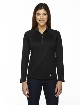 Ash City - North End 78187 Ladies' Radar Quarter-Zip Performance Long-Sl ...