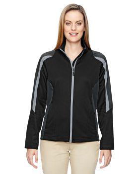 Ash City - North End 78201 Ladies' Strike Colorblock Fleece Jacket