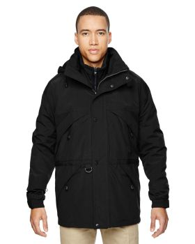 Ash City - North End 88007 Adult 3-in-1 Parka with Dobby Trim