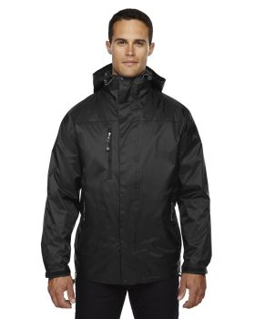 Ash City - North End 88120 Adult Performance 3-in-1 Seam-Sealed Hooded Jacket