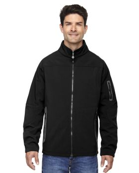 Ash City - North End 88138 Men's Three-Layer Fleece Bonded Soft Shell Technical Jacket
