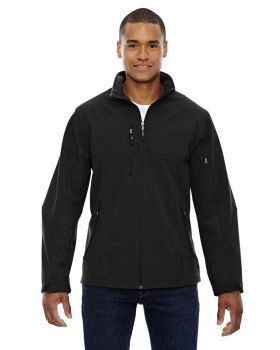 Ash City - North End 88156 Men's Compass Colorblock Three-Layer Fleece Bonded Soft Shell Jacket