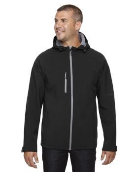 Ash City - North End 88166 Men's Prospect Two-Layer Fleece Bonded Soft S ...