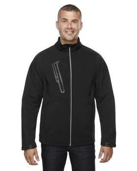 Ash City - North End 88176 Men's Terrain Colorblock Soft Shell with Embossed Print