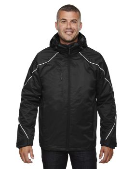 Ash City - North End 88196T Men's Tall Angle 3-in-1 Jacket with Bonded Fleece Liner
