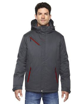 Ash City - North End 88209 Men's Rivet Textured Twill Insulated Jacket