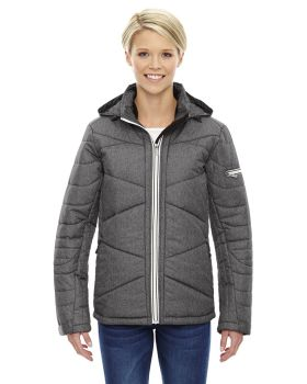 Ash City - North End Sport Blue 78698Tech Mélange Insulated Jacket