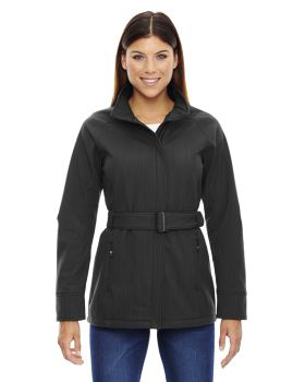 Ash City - North End Sport Blue 78801 Ape Three-Layer Textured Two-Tone Soft Shell Jacket