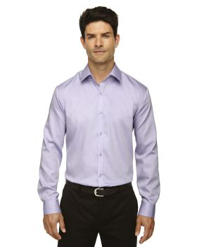 'Ash City - North End Sport Blue 88673 Rd Wrinkle-Free Two-Ply 80 Cotton Dobby Taped Shirt'