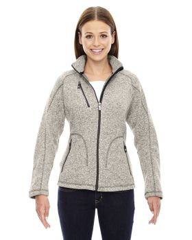 Ash City - North End Sport Red 78669 Sweater Fleece Jacket