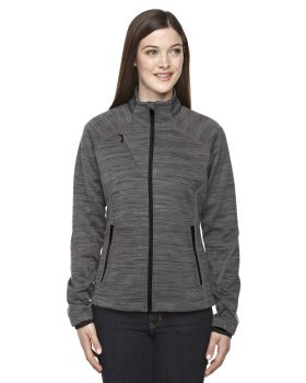 Ash City - North End Sport Red 78697 Mélange Bonded Fleece Jacket
