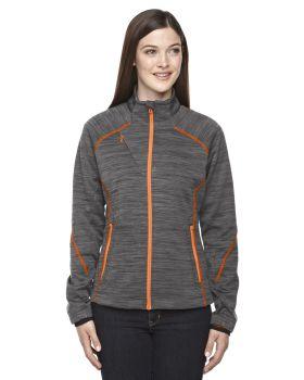 Ash City - North End Sport Red 78697 Mélange Bonded Fleece Jacket