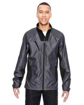 Ash City - North End Sport Red 88807 Tive Aero Two-Tone Lightweight Jacket