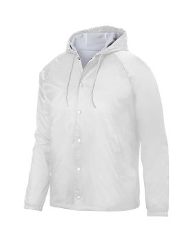 Augusta 3102 Hooded Coach'S Jacket