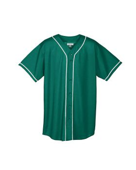 Augusta 594 Youth Wicking Mesh Button Front Jersey