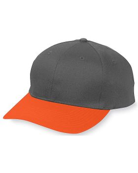 Augusta 6206 Youth Six-Panel Cotton Twill Low-Profile Cap