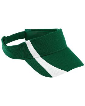 Augusta 6260 Adjustable Wicking Mesh Two-Color Visor