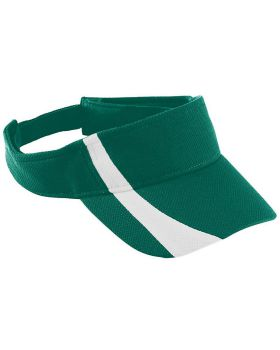 Augusta Sportswear 6261 Youth Adjustable Wicking Mesh Two-Color Visor