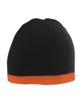 Augusta 6820 Two-Tone Knit Beanie