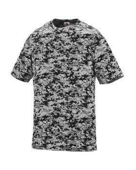 Augusta Sportswear 1798 Adult Digi Camo Wicking Short-Sleeve T-Shirt