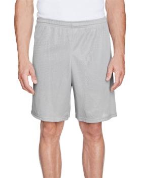 Augusta Sportswear 1848 Adult Longer Length Tricot Mesh Short