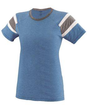 Augusta Sportswear 3011 Ladies' Fanatic Short-Sleeve T-Shirt