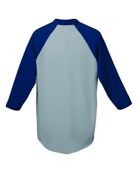 Augusta Sportswear 420 Three-Quarter Sleeve Baseball Jersey