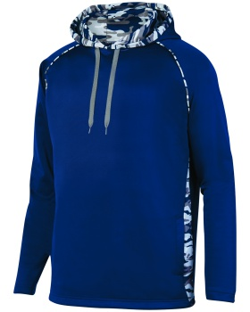 Augusta Sportswear 5538 Adult Mod Camo Hooded Pullover Sweatshirt
