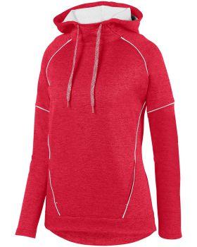 Augusta Sportswear 5556 Ladies Zoe Tonal Heather Hoodie