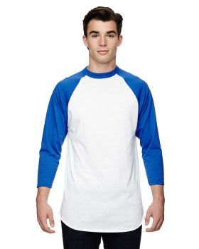 Augusta Sportswear AG4420 Adult 3/4-Sleeve BaseballJersey