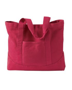Authentic Pigment 1904 Pigment-Dyed Large Canvas Tote