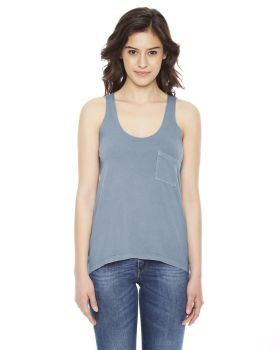 Authentic Pigment AP202W Women Best Summer Pocket Tank