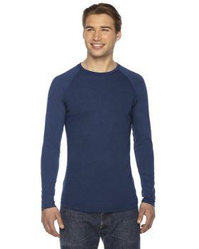 'Authentic Pigment AP203 Men's True Spirit Raglan T-Shirt'