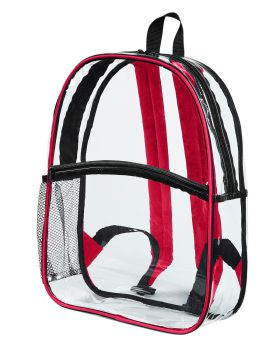 BAGedge BE259 Clear PVC Backpack