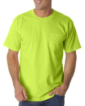 Bayside BA1725 Adult Pocket T-Shirt